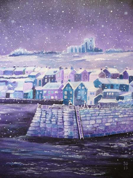 Snow Day In Whitby  by Super Cosmic