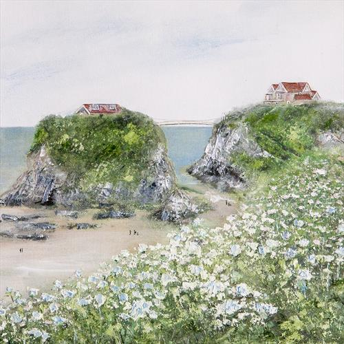 The Island, Newquay by Diane Griffiths
