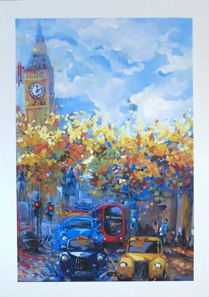 Streets of London by Marilene Salles