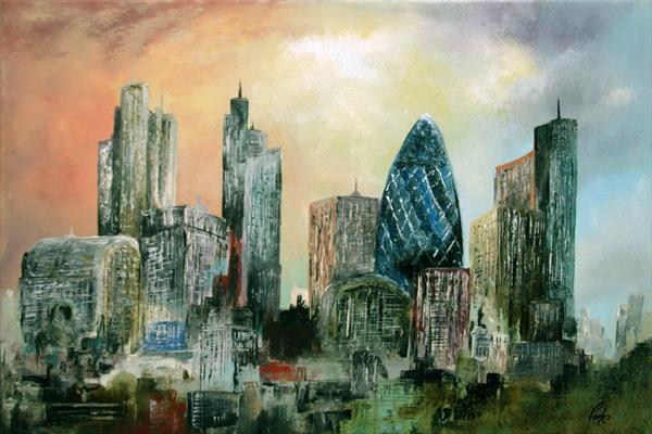 London Cityscape No.1228