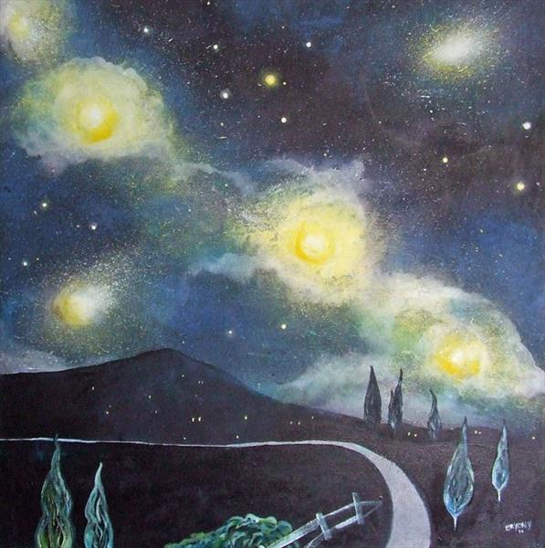 Starry Night by Bryony Harrison