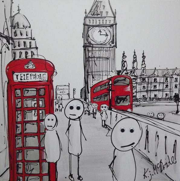 Stick Men in London
