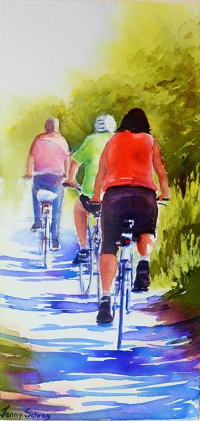 The Cycle Ride by Jenny Schrag