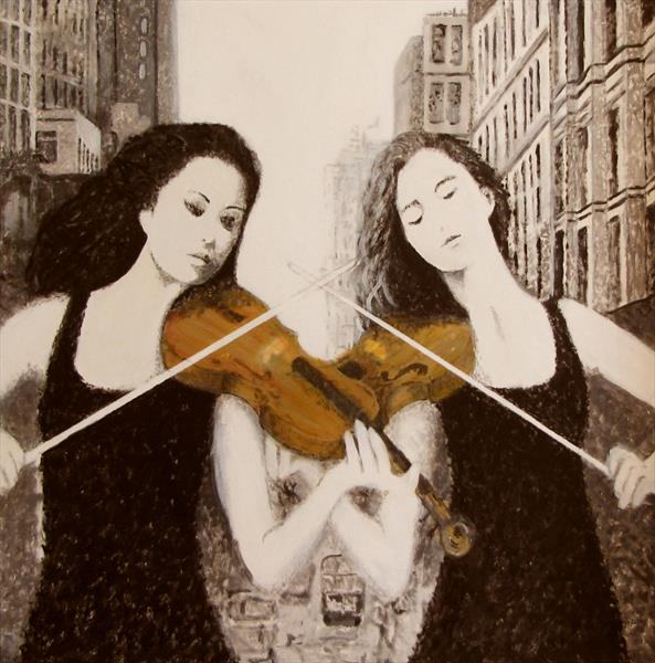 Double Fiddle by Nikki Rosetti