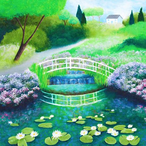 Water Lilies by Shirley Netherton