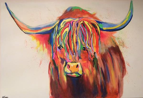 Hattie the cow by Andrew Snee