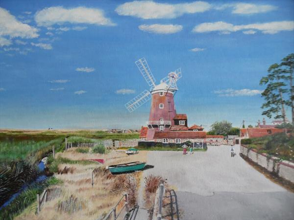 Cley Windmill. by Philip Smith