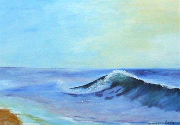 Big Wave by Maureen Crofts