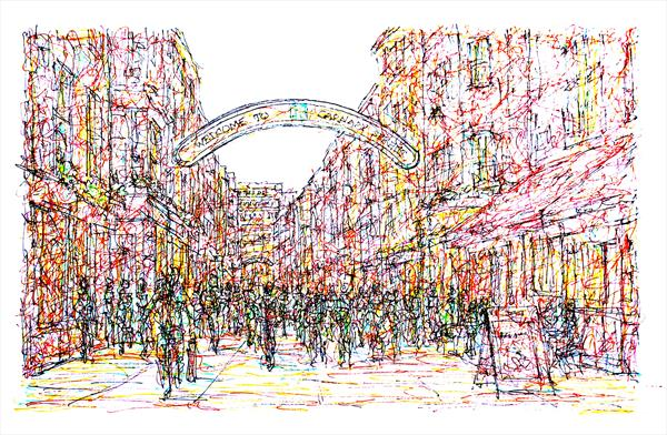 Carnaby Street London by Brian Keating ANCAD