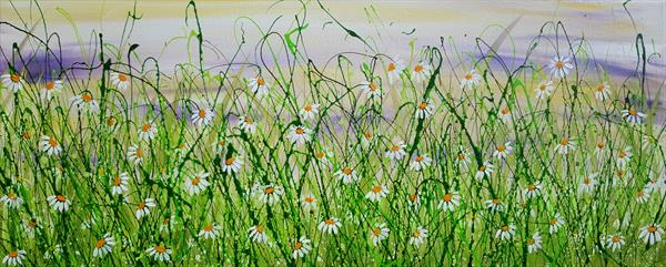 Daisy Meadow Whispers by Lucy Moore