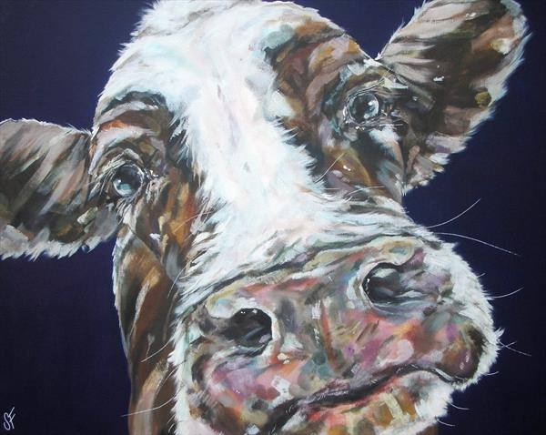 Ill never love an-udder  (On display at the Art Gallery, Tetbury)