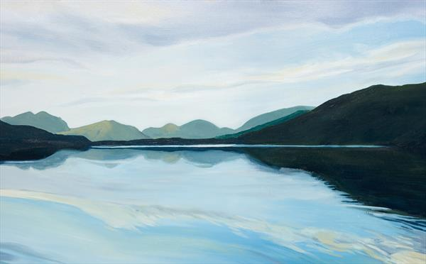 Reflections at Dusk, Loch Etive (Limited edition giclee) by Tracey Pacitti