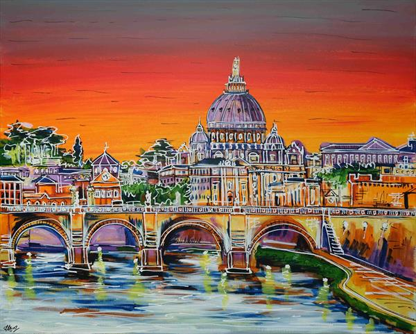 Rome is Where the Heart is by Laura Hol
