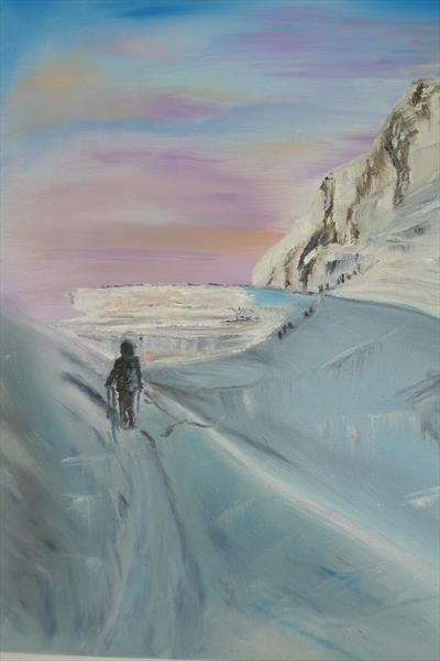 Enroute To The Summit  by Vicki Burkitt