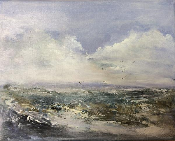 Seascape ~ Anywhere The Wind Blows II by Maxine Martin
