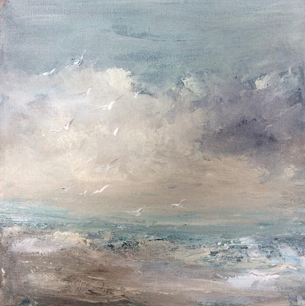 Seascape~ It Was Early One Morning  by Maxine Martin