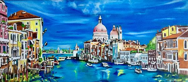Venice. Grand canal view by Olga  Koval