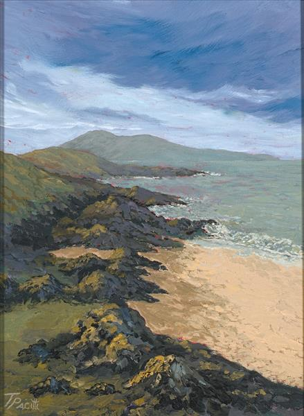 Lewis Rock (Isle of Lewis) Limited edition giclee by Tracey Pacitti