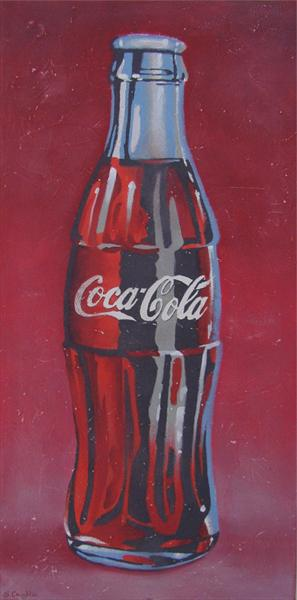 Coke Bottle by Steven Coughlin