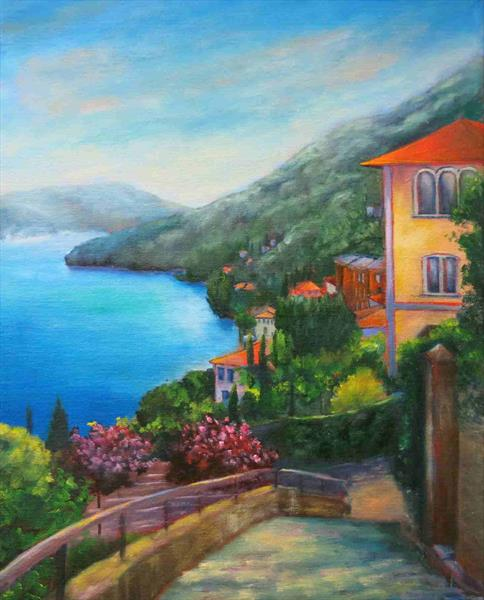 Moltrasio, Lake Como by Maureen Greenwood