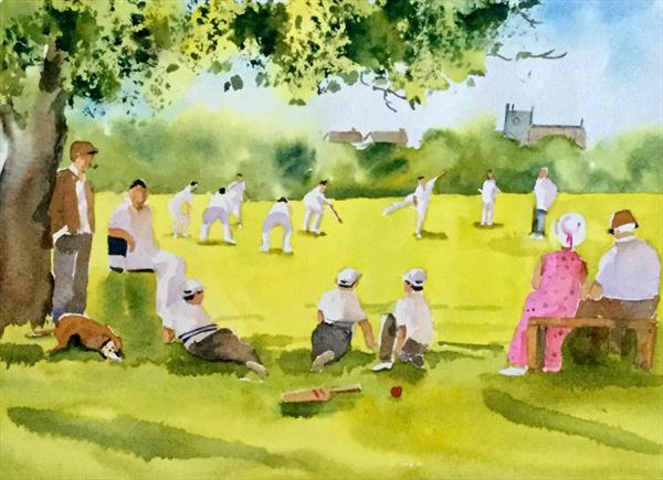 THE CRICKET MATCH by Susan Shaw