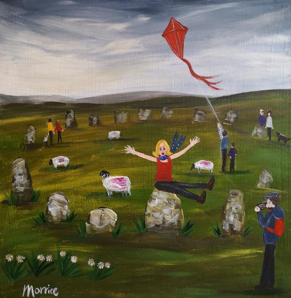 I'd rather be at Castlerigg, Keswick  by cheryl Morrice