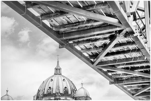 Above Berliner Dom by Paul Milton