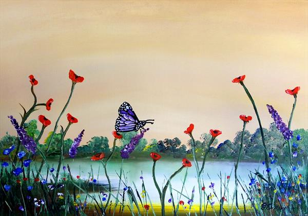 Butterfly morning  by Graham Evans