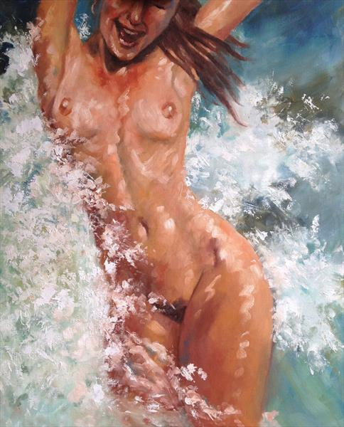 In the waves by Peter Kavanagh