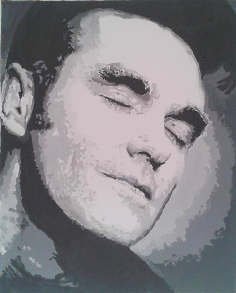 Morrissey Portrait  by Andrew Paget