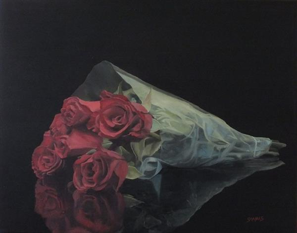 Red Roses by Ian Soames