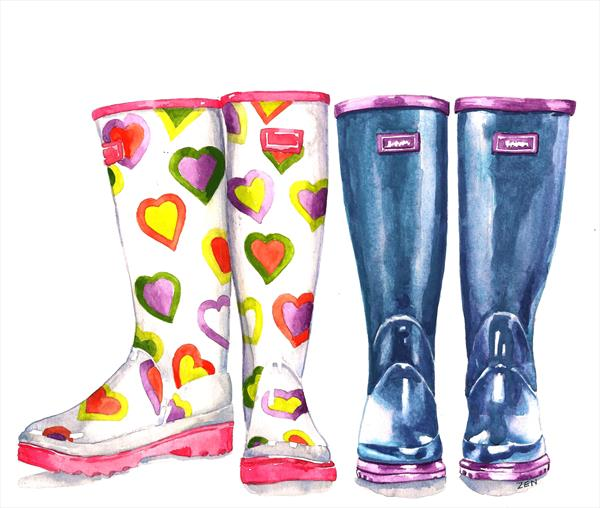 Wellington Boots with Love