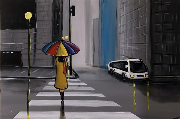 City Umbrella by Aisha Haider