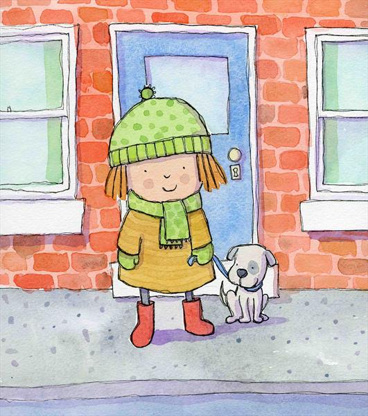 Walking the Dog by Claire Keay