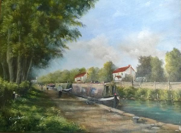 Boats at Rest by Colin Leach