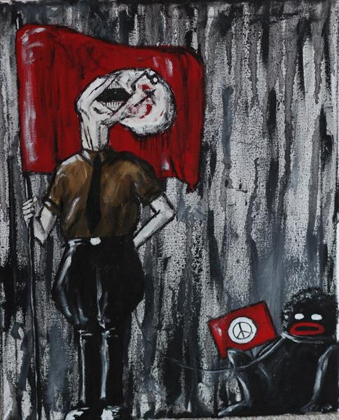 Antifa by Mark Barrable