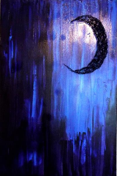 Crescent Moon by Rosalie Sampson