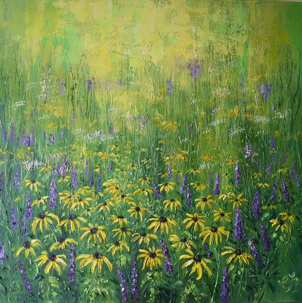 Rudbeckia by Colette Baumback