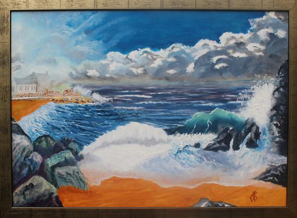 Risng Storm by Anthony Keith Whitehead