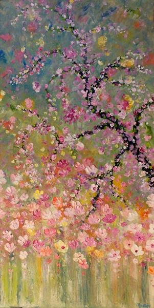 Smothered In Blossoms by Hester Coetzee