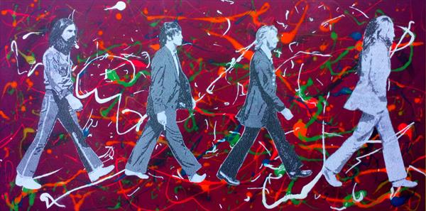 Literally The Beatles - Abbey Road #2 by Gary Hogben