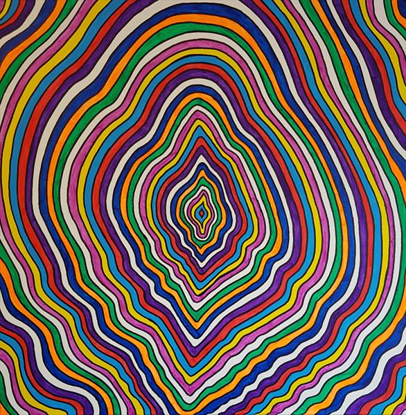 Colourful abstract  by Lee Proctor
