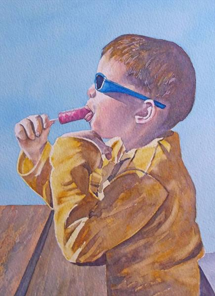 Sale - Cool Dude by Maureen Crofts