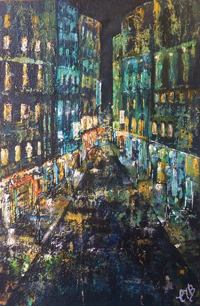 City Lights 2 by Colette Baumback