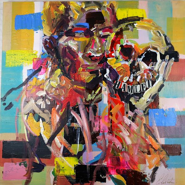 William Shakespeare's Hamlet Modern painting 012 by Eraclis Aristidou