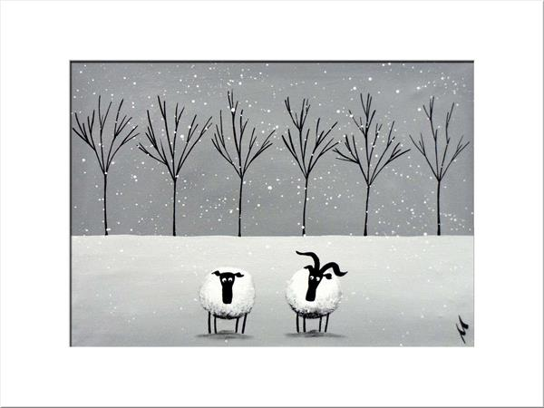 Winter Date Limited Edition Print by Mervyn Tay