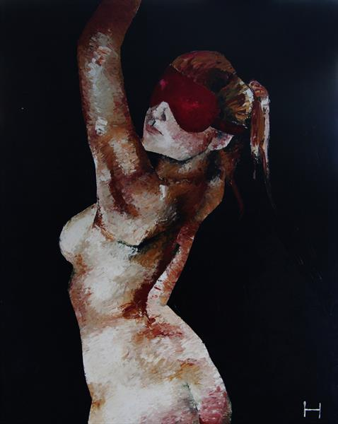 Blindfold 1 by Hyde Art
