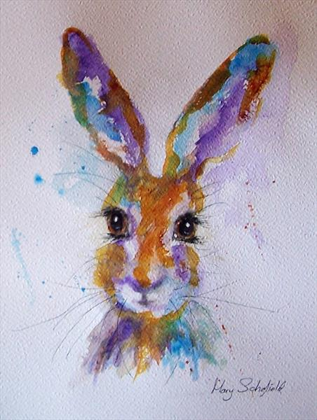 Hare 20 by Mary Schofield