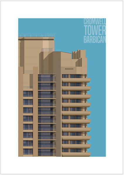 Cromwell Tower, Barbican by Charlie Edwards