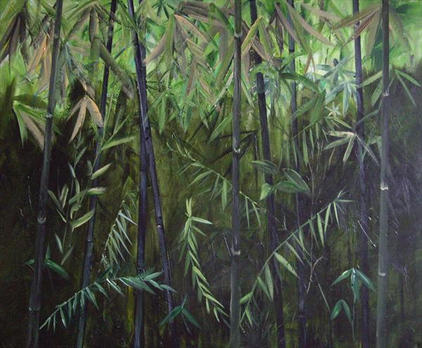 Black Bamboo by Lesley Anne Cornish